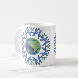 One Planet One Humanity Coffee Mug