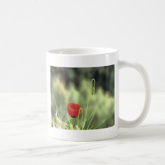 One Poppy Coffee Mug