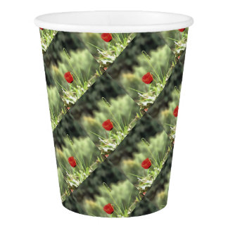 One Poppy Paper Cup
