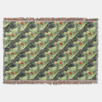 One Poppy Throw Blanket