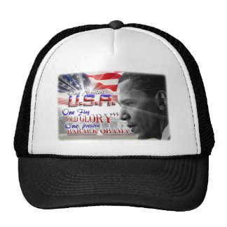 One President Barack Obama Trucker Hat