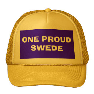 ONE PROUD SWEDE CAP