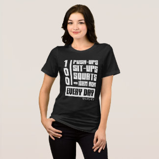 One Punch Man Regimen T-Shirt