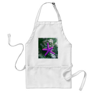 One Purple Starfish Standard Apron