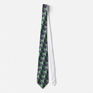 One Purple Starfish Tie