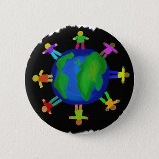 One Race - Anti Racism 6 Cm Round Badge