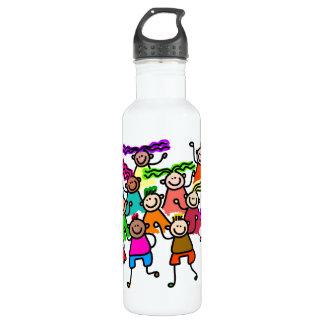 One Race: Human 710 Ml Water Bottle