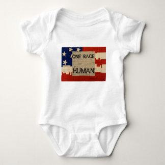One Race Human Baby Bodysuit