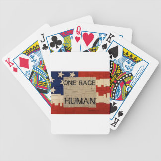 One Race Human Bicycle Playing Cards