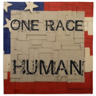 One Race Human Napkin