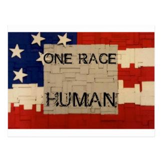 One Race Human Postcard