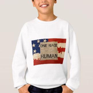 One Race Human Sweatshirt