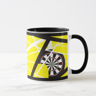 One Rockin' Darts Mug