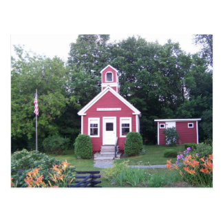One Room School House Post Card