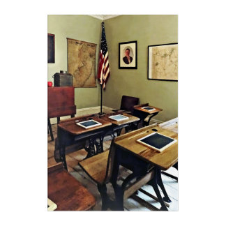 One Room Schoolhouse in New Jersey Acrylic Wall Art