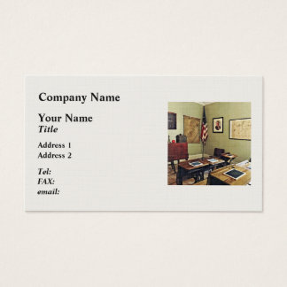 One Room Schoolhouse In New Jersey Business Card