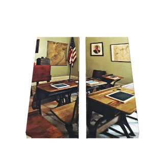 One Room Schoolhouse in New Jersey Canvas Print