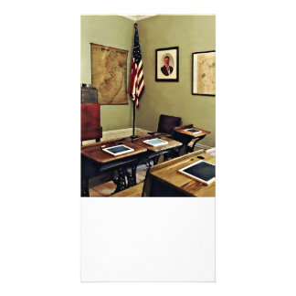 One Room Schoolhouse In New Jersey Card