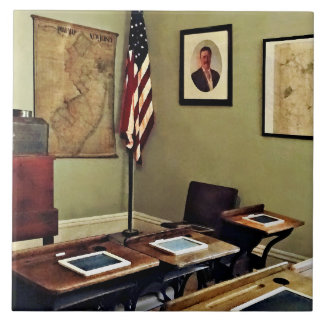 One Room Schoolhouse In New Jersey Ceramic Tile
