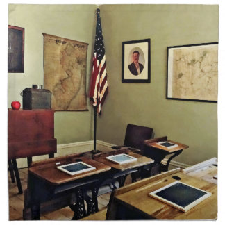 One Room Schoolhouse In New Jersey Napkin