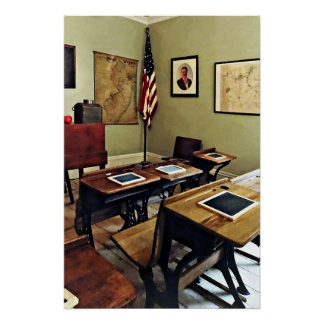 One Room Schoolhouse in New Jersey Poster