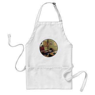 One Room Schoolhouse In New Jersey Standard Apron