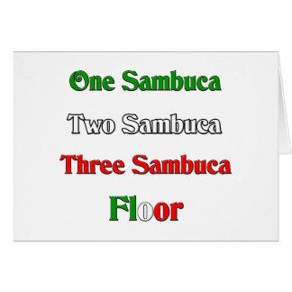 One Sambuca Card