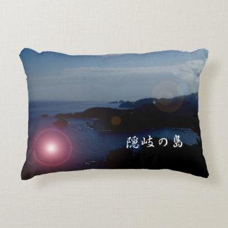 One scene of overseas paralleling of Oki island* Decorative Cushion