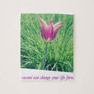 one second can change your life forever jigsaw puzzle