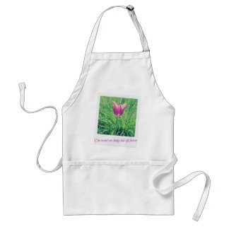 one second can change your life forever standard apron