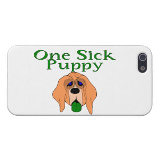One Sick Puppy Dog Cover For iPhone 5/5S