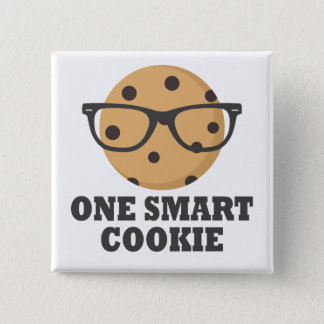 One Smart Cookie 15 Cm Square Badge