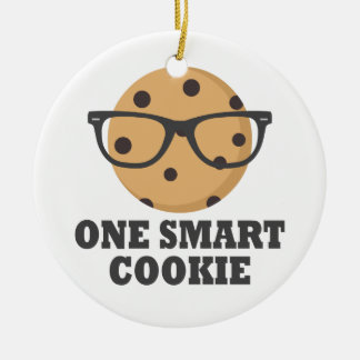 One Smart Cookie Ceramic Ornament