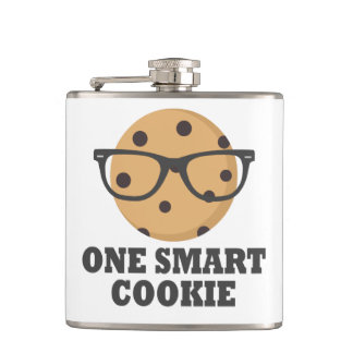 One Smart Cookie Hip Flask