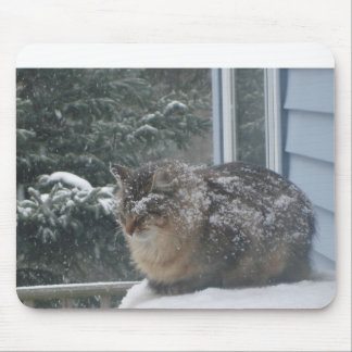 one snowy day mouse pad