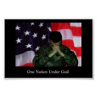 One Soldier, One Nation Poster
