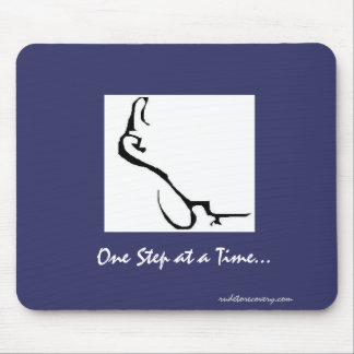 One Step At A Time, mousepad