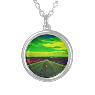 One Strange Journey Round Necklace