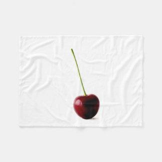 One Sweet Cherry Fleece Blanket