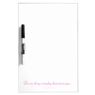 One Thing Everyday Quote Dry Erase Board