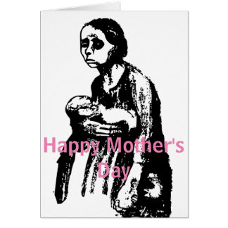 One Tired Mother To Another. Happy Mother's Day Card
