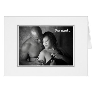 One touch-One kiss Card