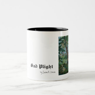 One Tree by Susan A. Lennon Two-Tone Coffee Mug