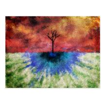 One Tree Postcard
