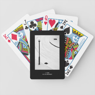 One, Two, Three - Snow! Bicycle Playing Cards