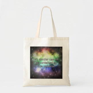 One Universe Tote Budget Tote Bag