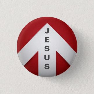 One Way - Jesus 3 Cm Round Badge