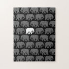 One White Elephant in a Herd Jigsaw Puzzle