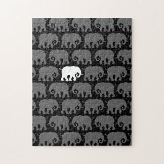 One White Elephant in a Herd Puzzles