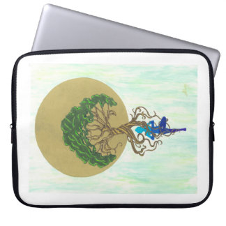 One with the Earth Laptop Sleeve